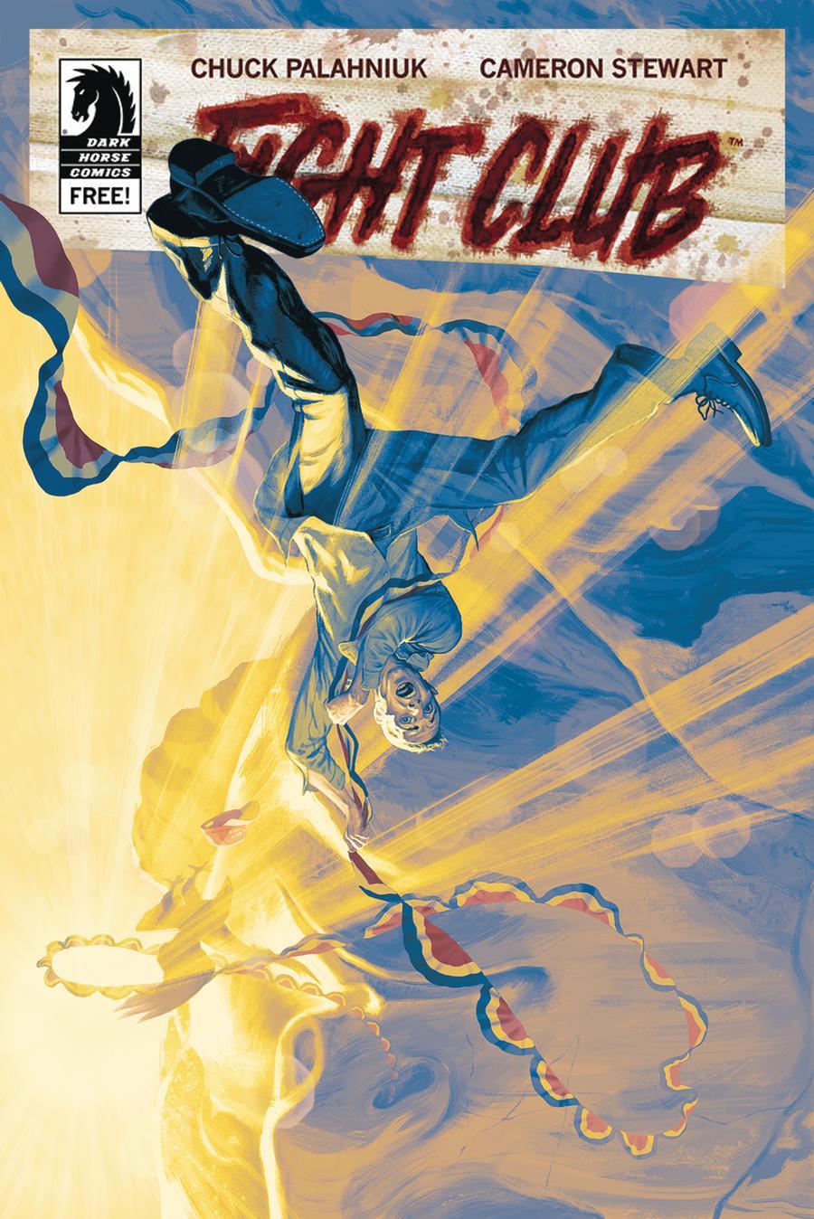 Fight Club 3 #7 Cover B Variant Steve Morris Cover