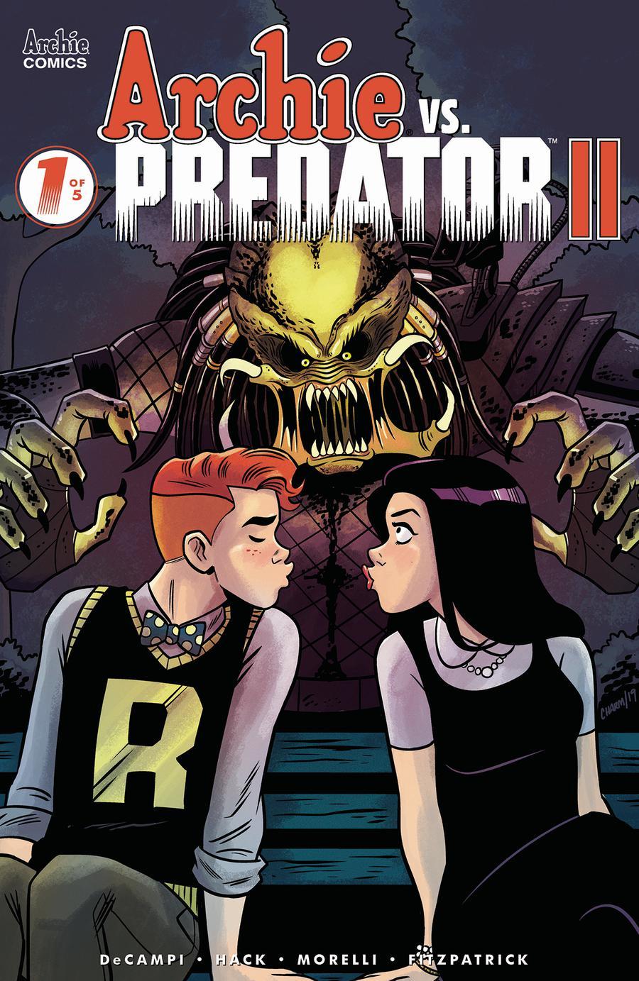 Archie vs Predator II #1 Cover C Variant Derek Charm Cover