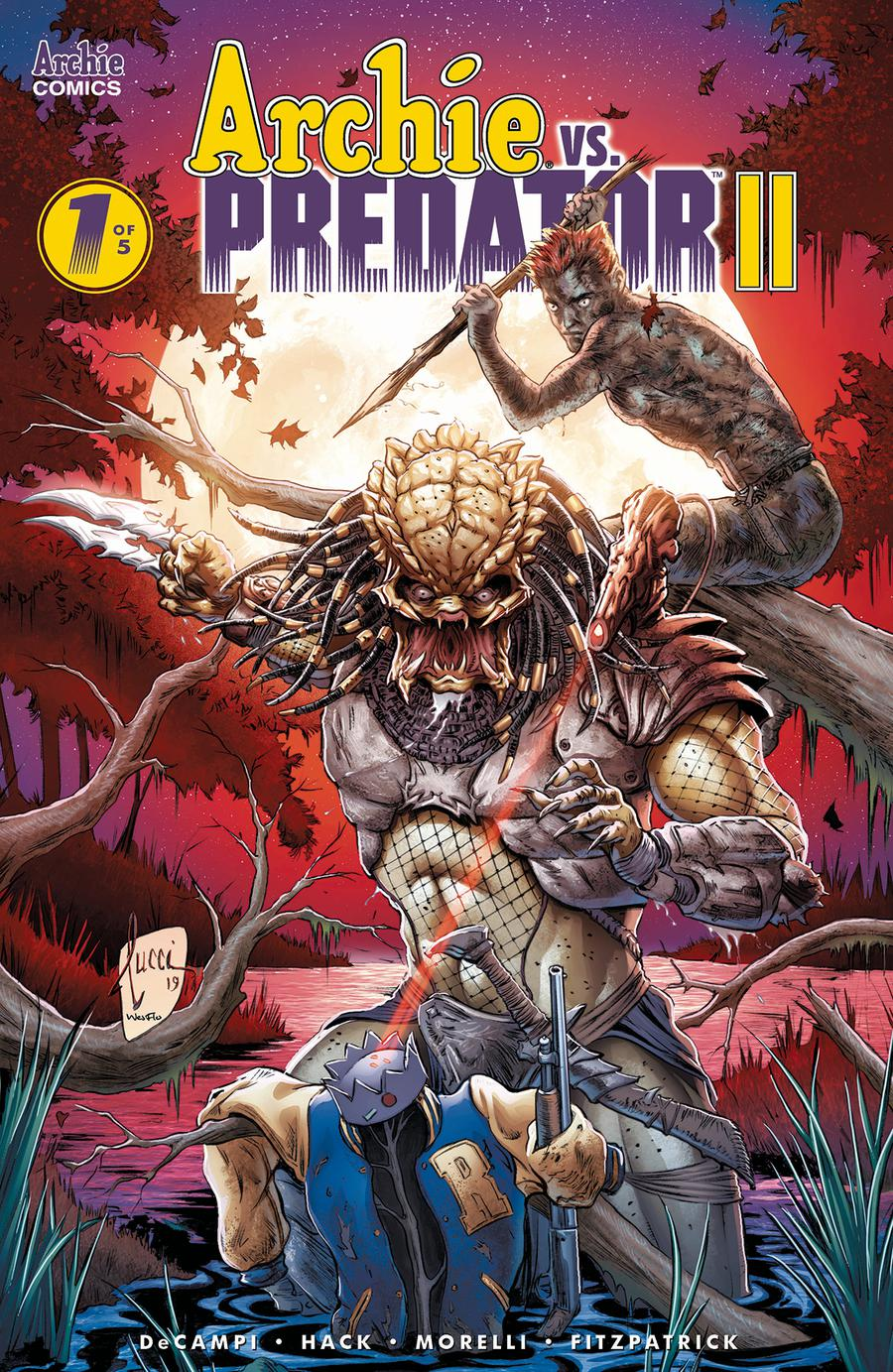 Archie vs Predator II #1 Cover F Variant Billy Tucci & Wes Hartman Cover