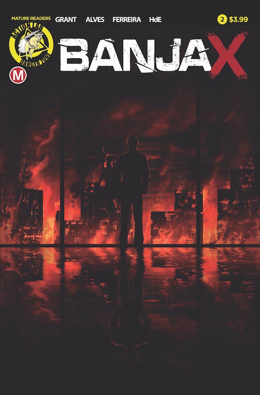 Banjax #2 Cover A Regular Fabio Alves Cover