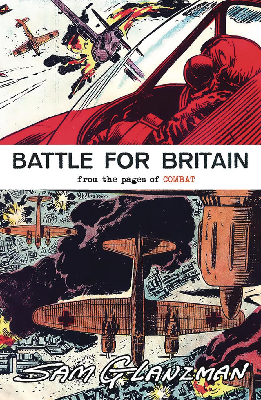 Battle For Britain From The Pages Of Combat One Shot Cover A Regular Sam Glanzman Cover