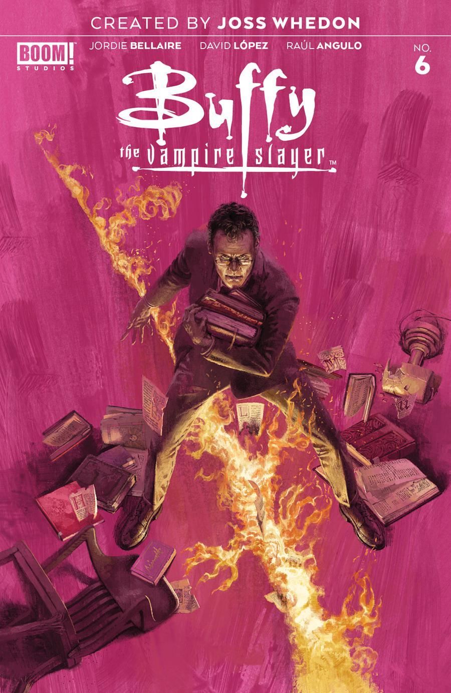 Buffy The Vampire Slayer Vol 2 #6 Cover A Regular Marc Aspinall Cover
