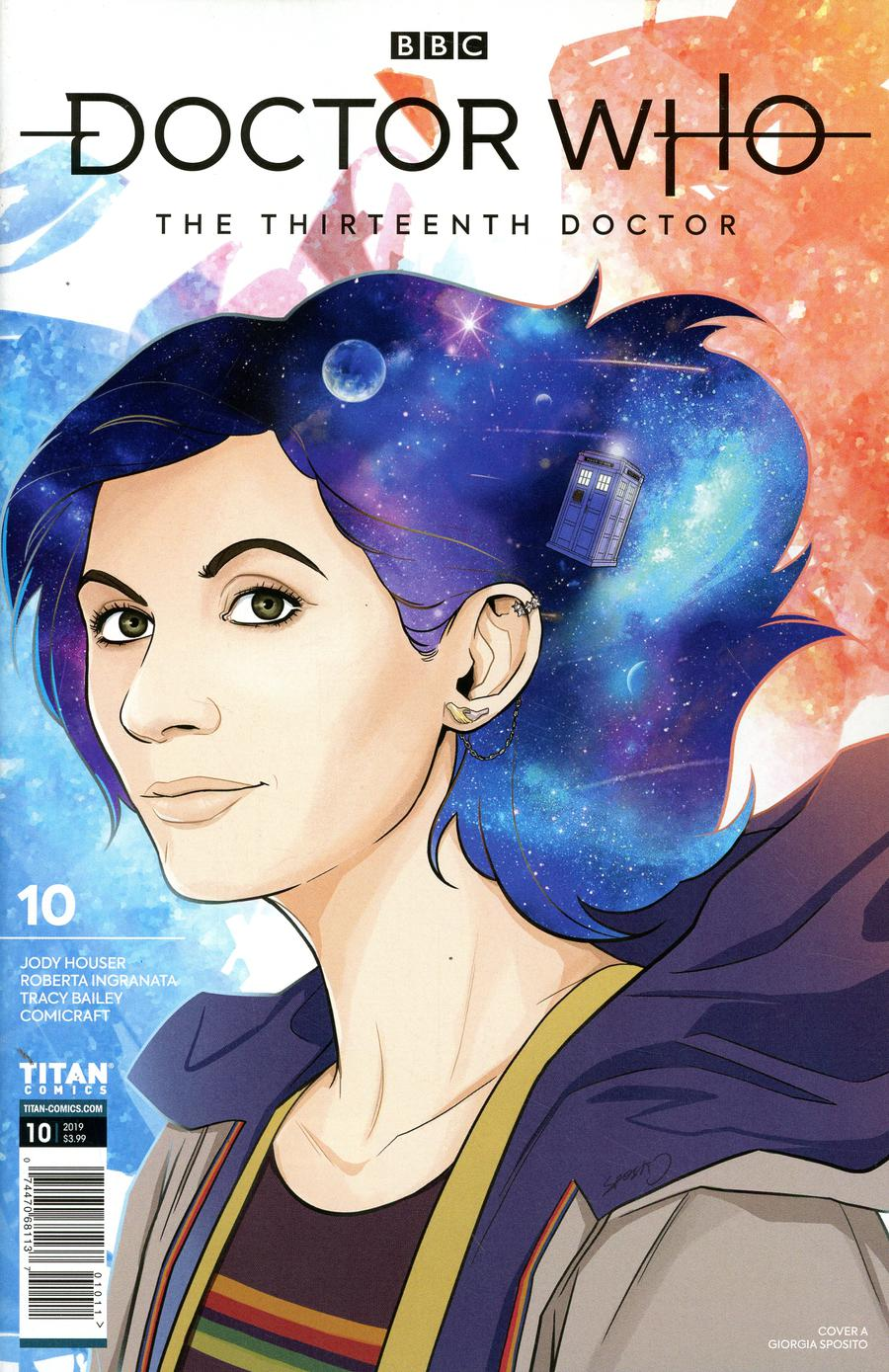 Doctor Who 13th Doctor #10 Cover A Regular Giorgia Sposito Cover