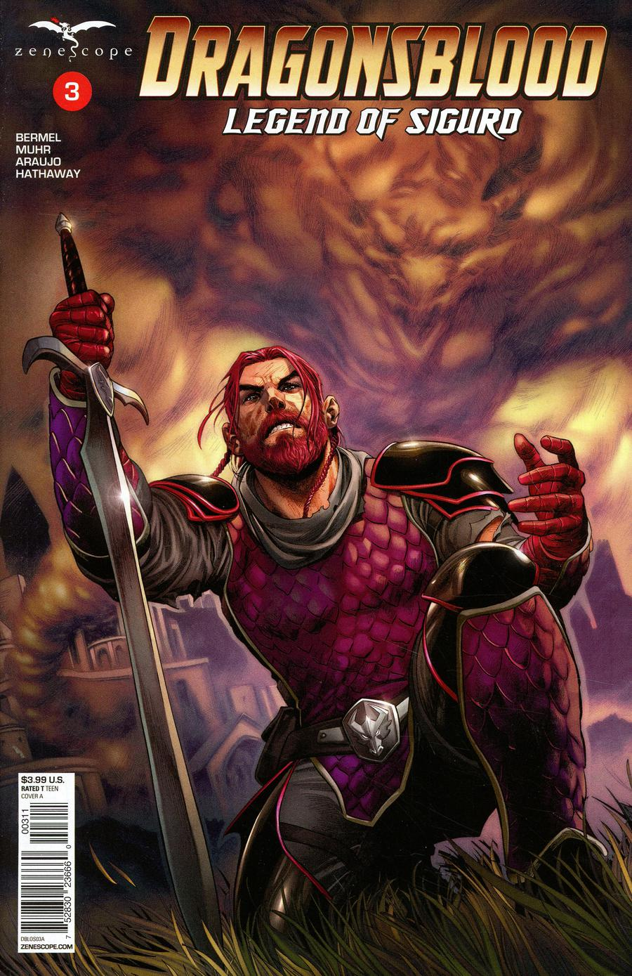 Grimm Fairy Tales Presents Dragonsblood #3 Cover A Martin Coccolo