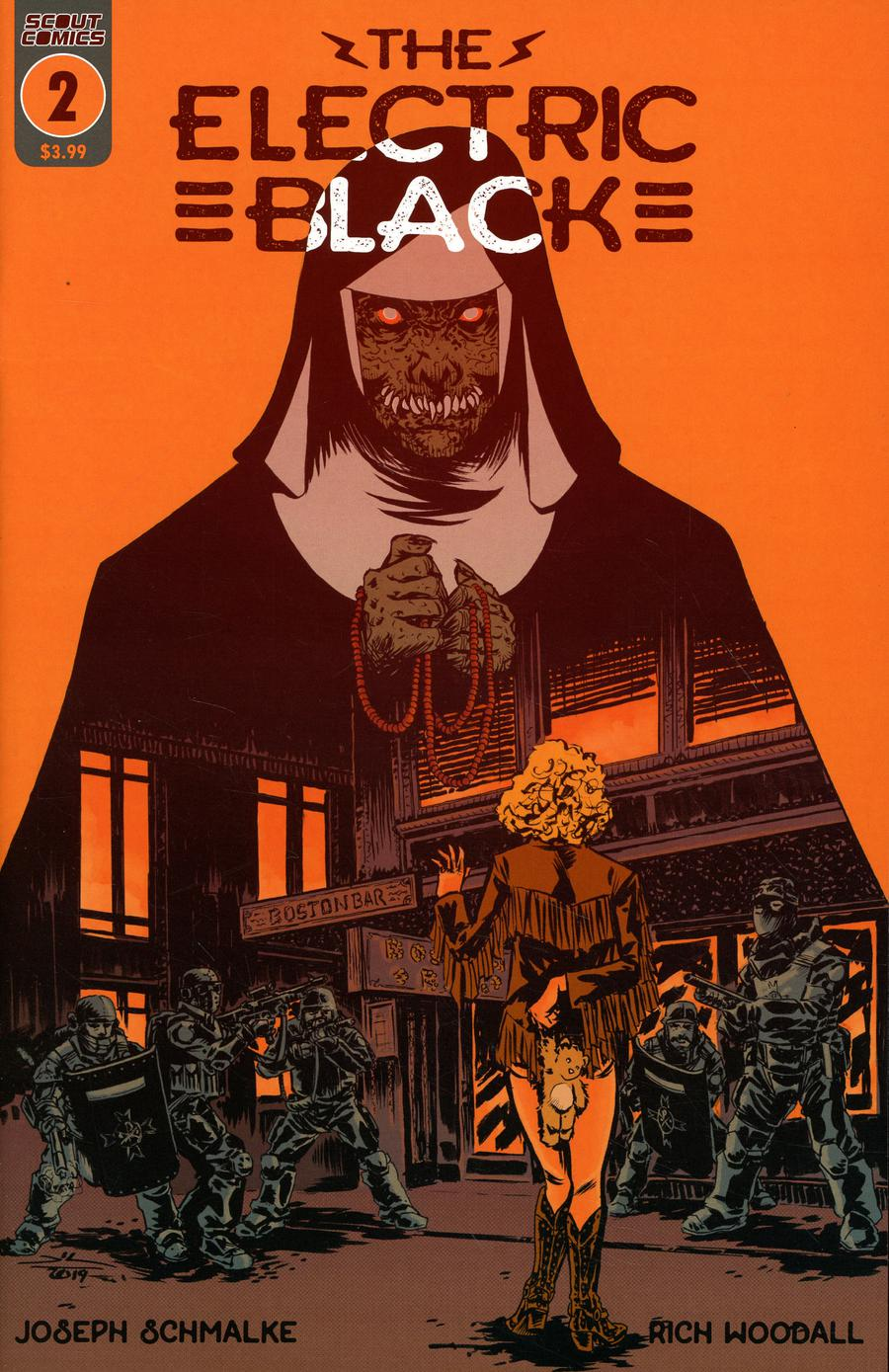 Electric Black #2 Cover A Regular Cover