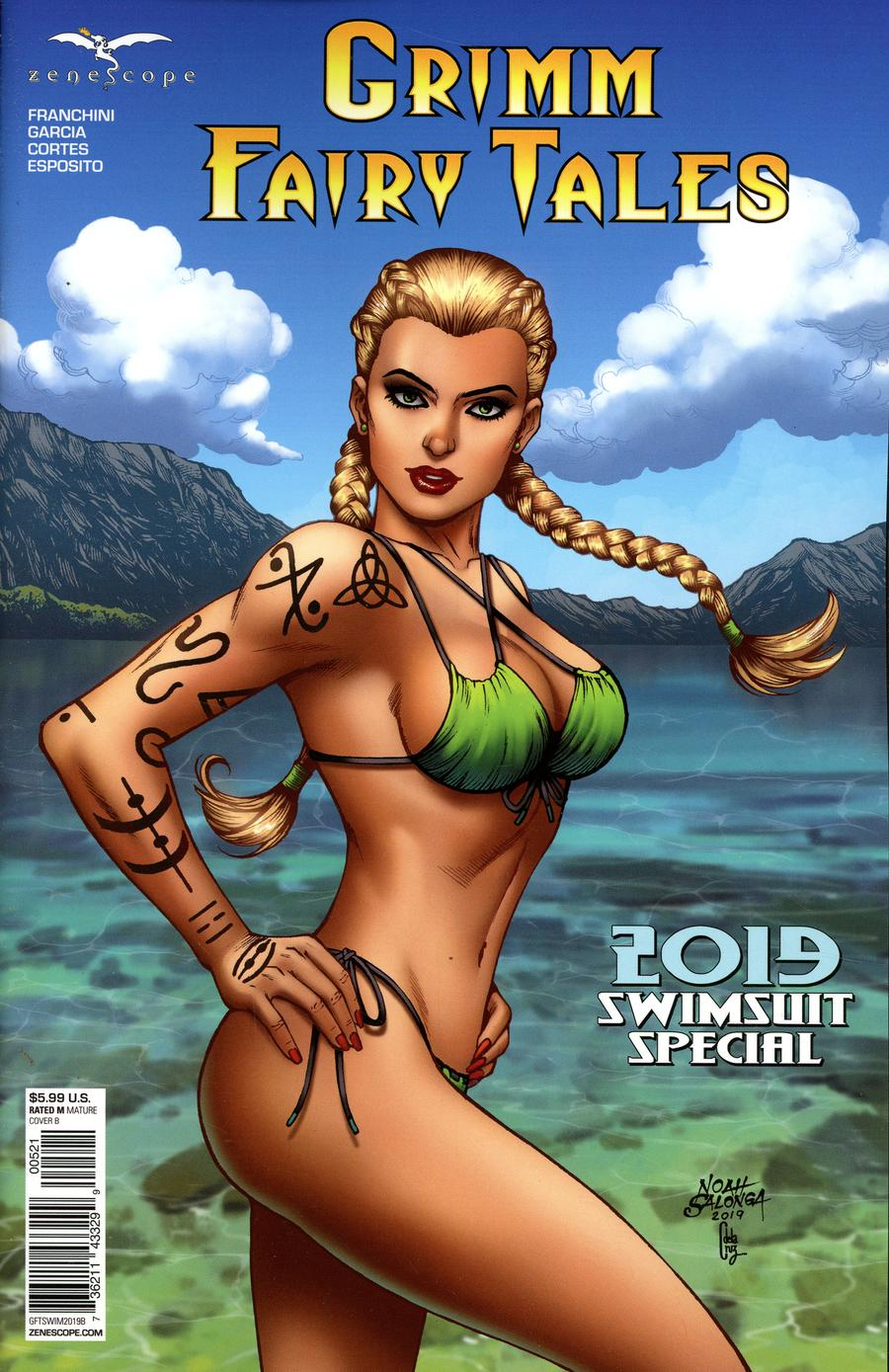 Grimm Fairy Tales Presents Swimsuit Special 2019 One Shot Cover B Noah Salonga