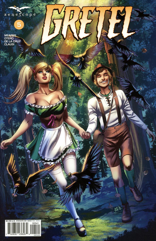Grimm Fairy Tales Presents Gretel #5 Cover D Allan Otero