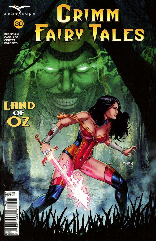 Grimm Fairy Tales Vol 2 #30 Cover A Sean Chen