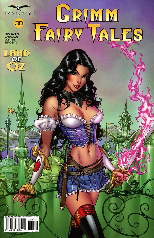 Grimm Fairy Tales Vol 2 #30 Cover D Michael Dooney