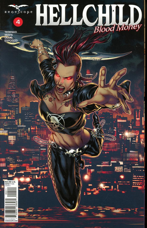Grimm Fairy Tales Presents Hellchild Blood Money #4 Cover A Igor Vitorino