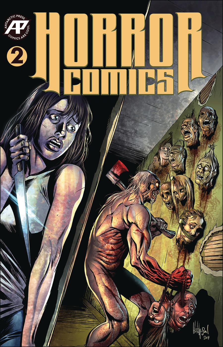 Horror Comics #2 Cover B Variant David Hutchison Cover