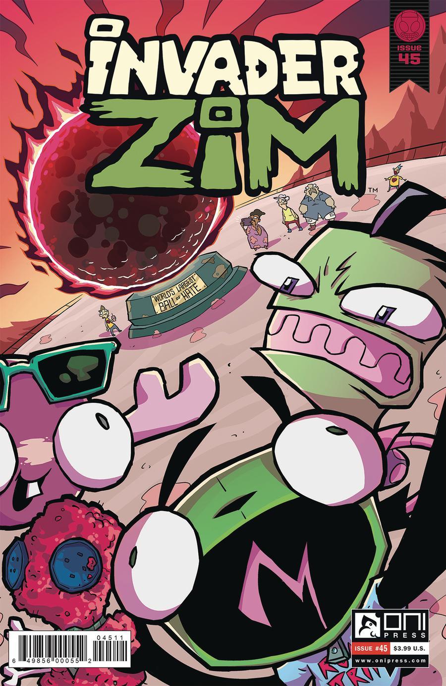 Invader Zim #45 Cover A Regular Warren Wucinich & Fred Stresing Cover