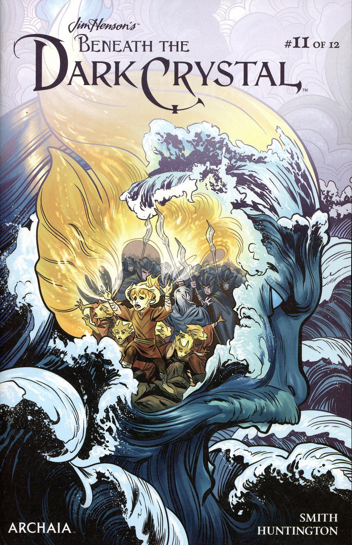 Jim Hensons Beneath The Dark Crystal #11 Cover A Regular Benjamin Dewey Cover