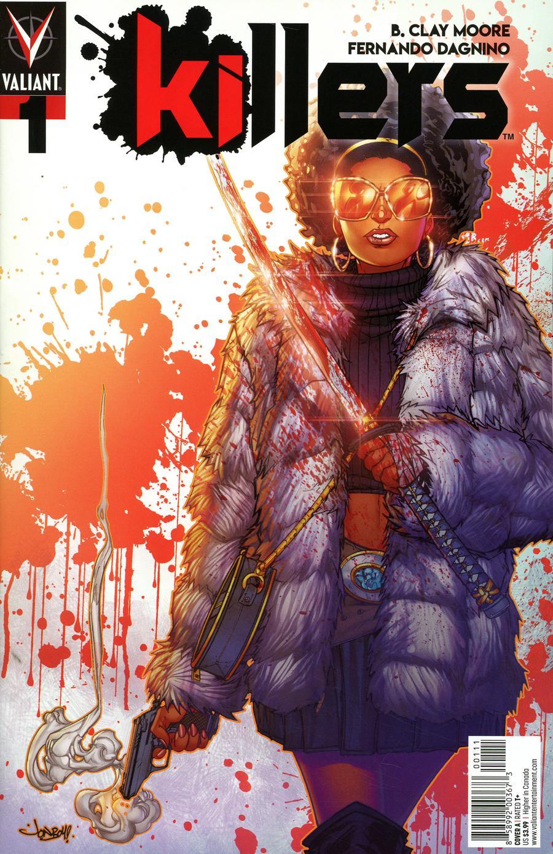 Killers #1 Cover A Regular Jonboy Meyers Cover