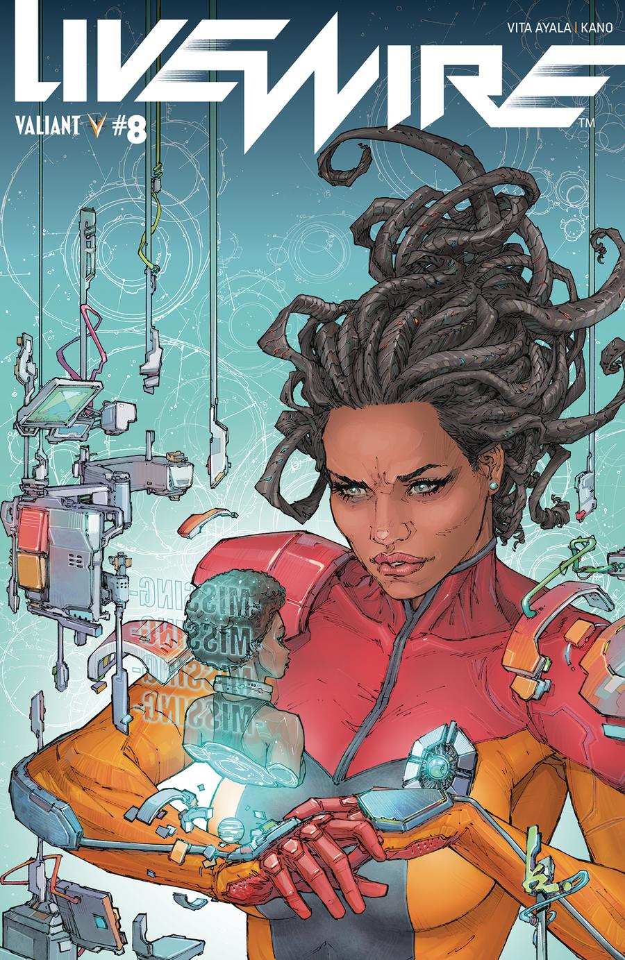 Livewire #8 Cover A Regular Kenneth Rocafort Cover