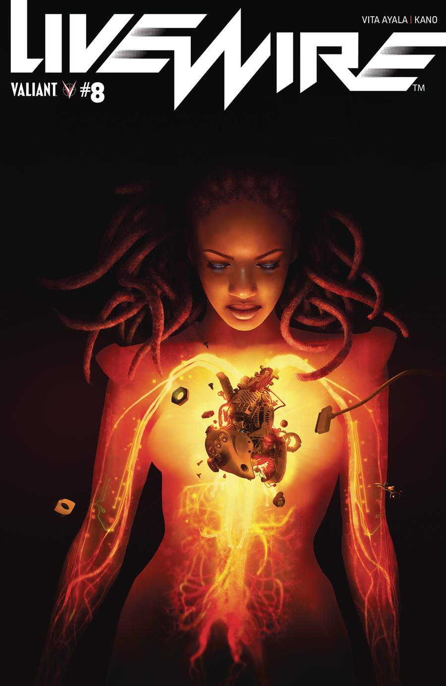 Livewire #8 Cover C Variant Rahzzah Cover