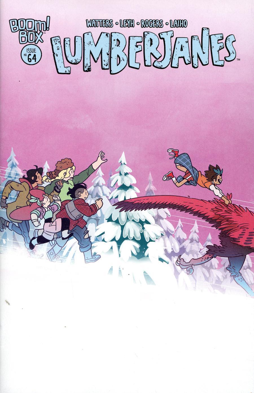 Lumberjanes #64 Cover A Regular Kat Leyh Cover