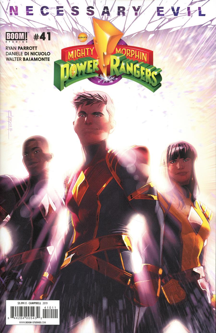 Mighty Morphin Power Rangers (BOOM Studios) #41 Cover A Regular Jamal Campbell Cover