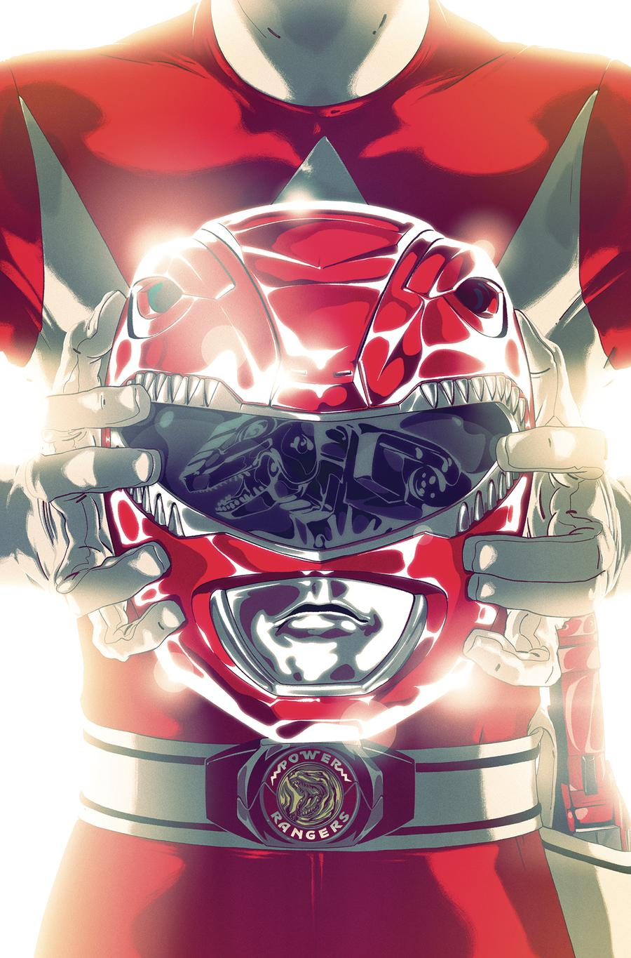 Mighty Morphin Power Rangers (BOOM Studios) #41 Cover B Variant Goni Montes Foil Cover