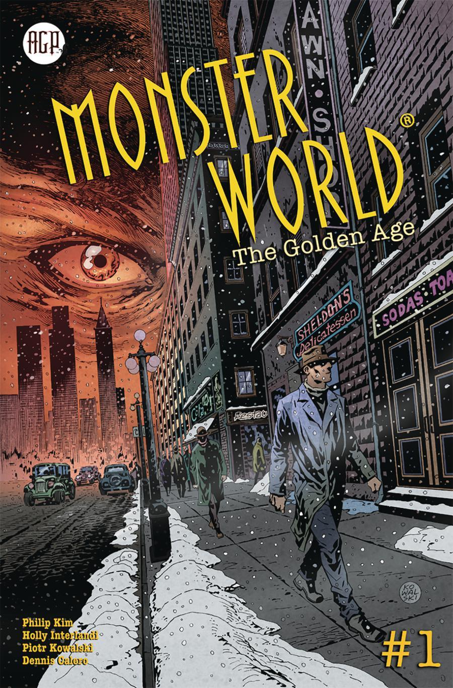 Monster World Golden Age #1 Cover A Regular Piotr Kowalski Cover
