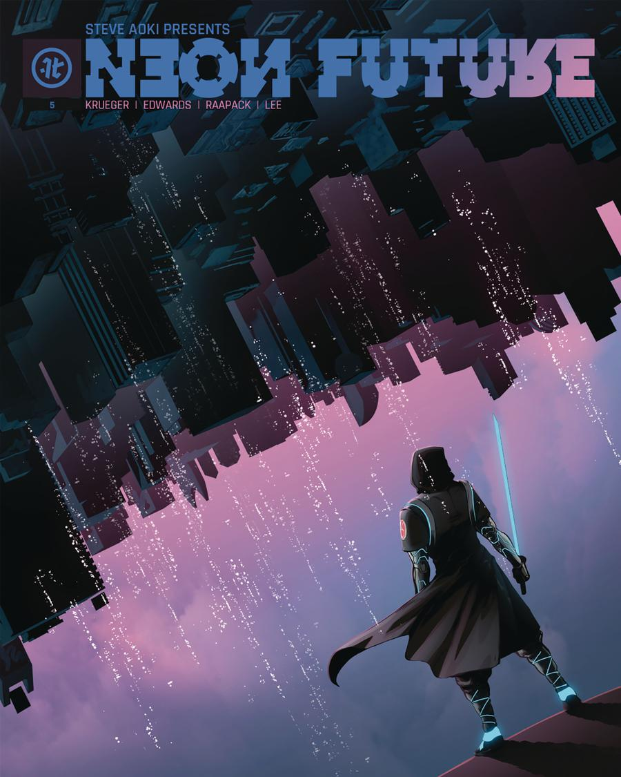 Neon Future #5 Cover A Regular Jheremy Raapack Cover