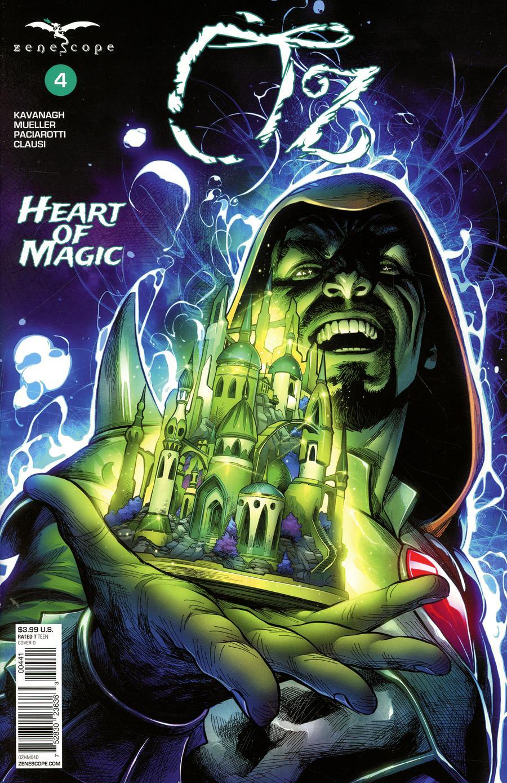 Grimm Fairy Tales Presents Oz Heart Of Magic #4 Cover D Martin Coccolo