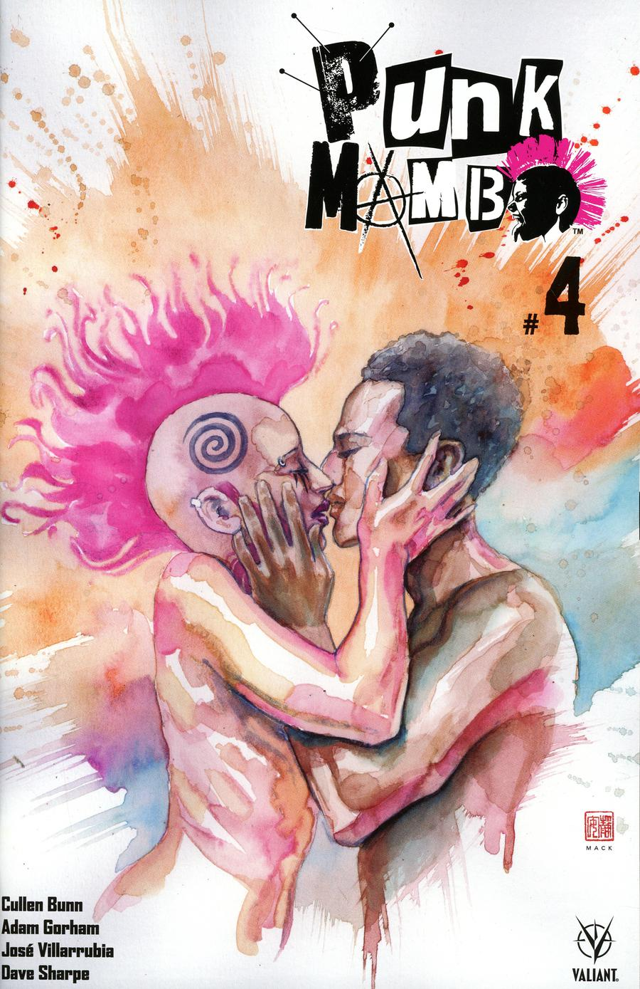 Punk Mambo #4 Cover B Variant David Mack Cover
