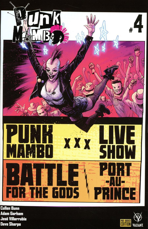 Punk Mambo #4 Cover D Variant Adam Gorham Cover