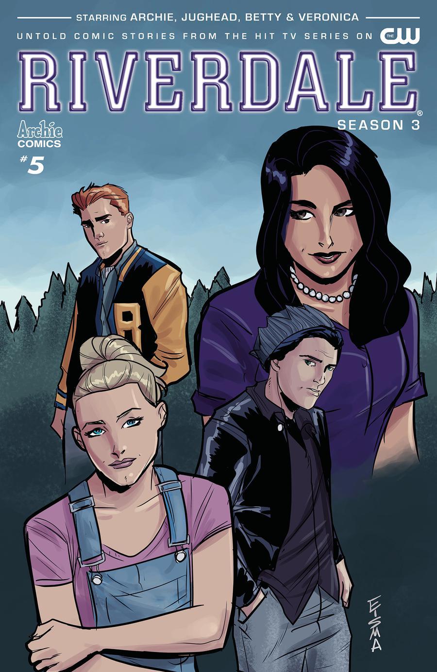 Riverdale Season 3 #5 Cover B Variant Joe Eisma Cover