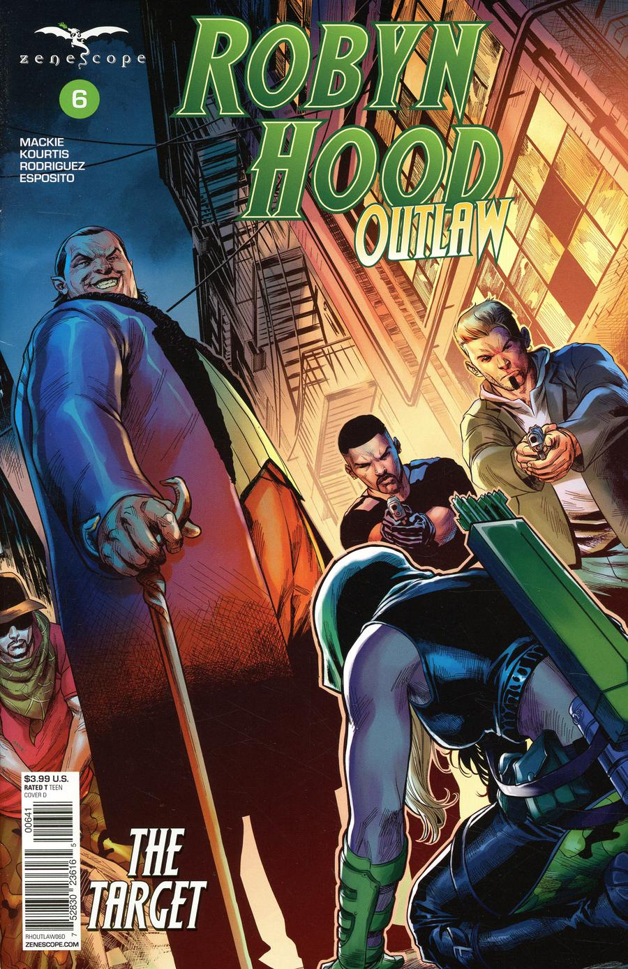 Grimm Fairy Tales Presents Robyn Hood Outlaw #6 Cover D Martin Coccolo