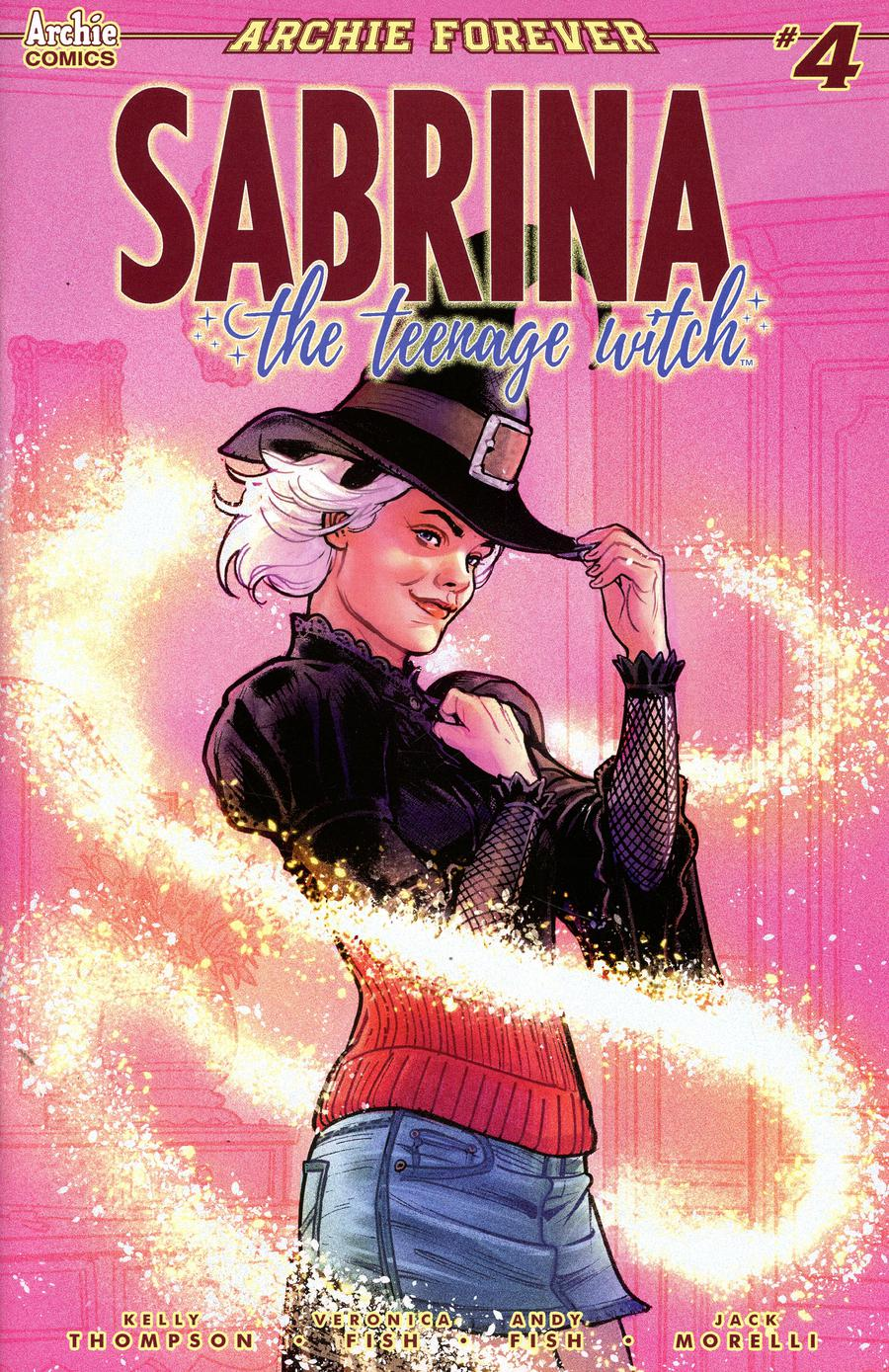 Sabrina The Teenage Witch #4 Cover B Variant Victor Ibanez Cover