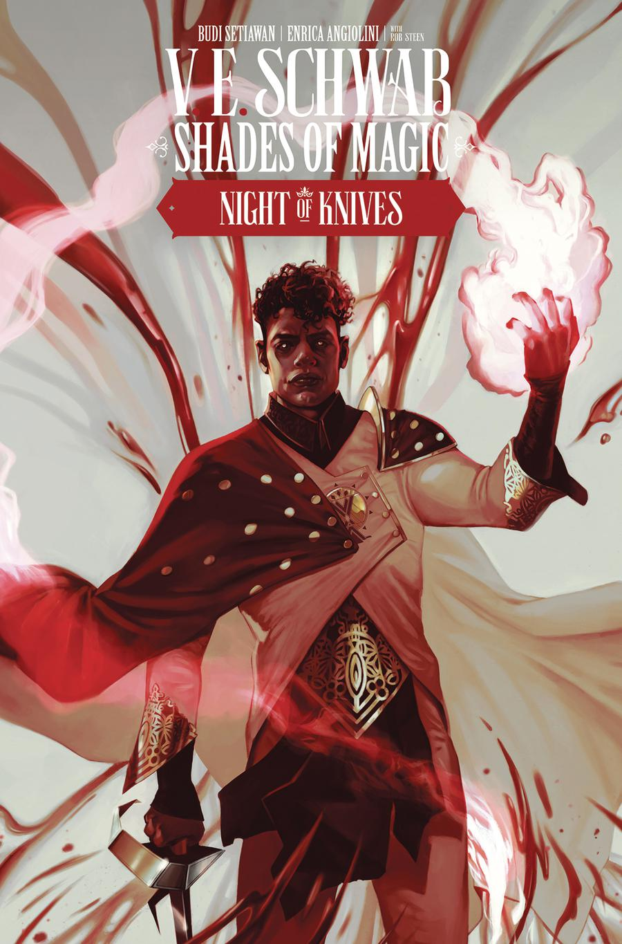 Shades Of Magic #8 Night Of Knives Cover A Regular Claudia Caranfa Cover