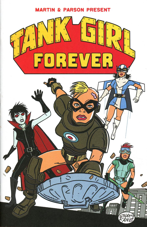 Tank Girl Vol 3 #5 Cover C Variant Shaky Kane Cover