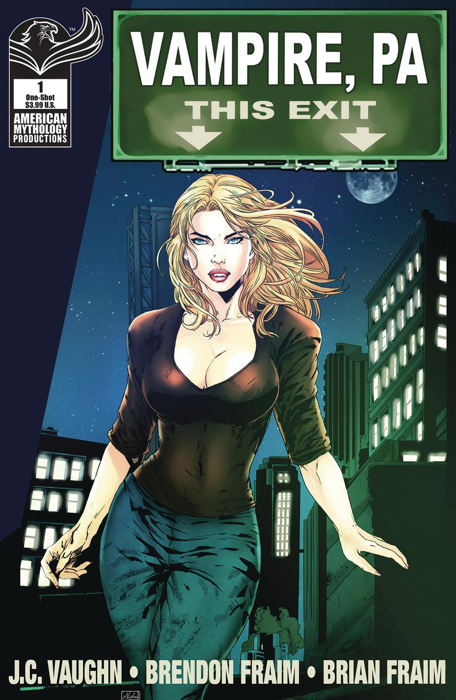Vampire PA Bite Out Of Crime #1 Cover B Variant Asha Kishna Cover
