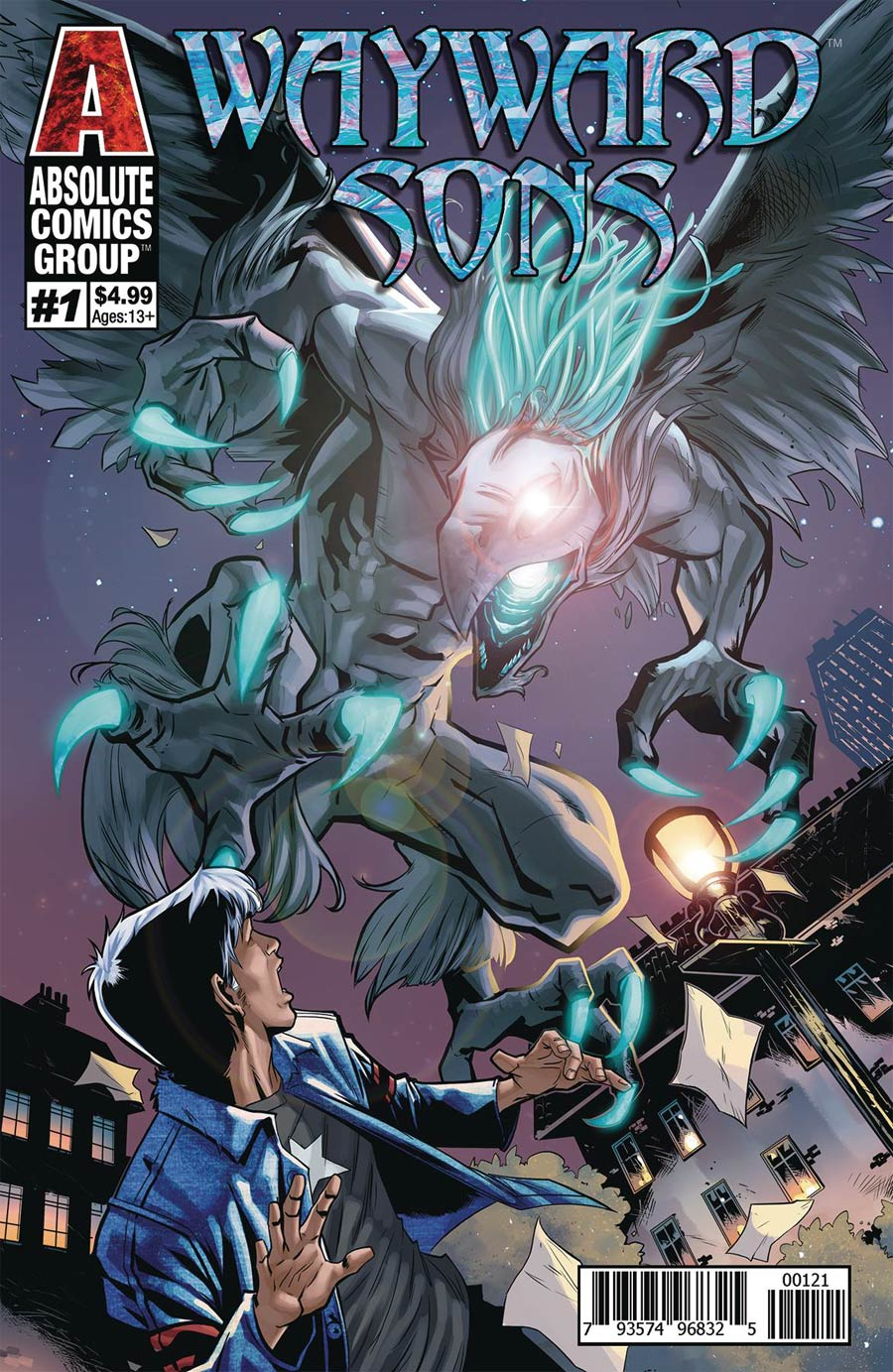 Wayward Sons #1 Cover C Limited Holographic Foil Cover