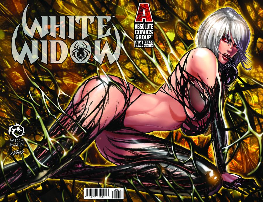 White Widow #4 Cover C Variant Jesse Wichmann Lenticular Cover
