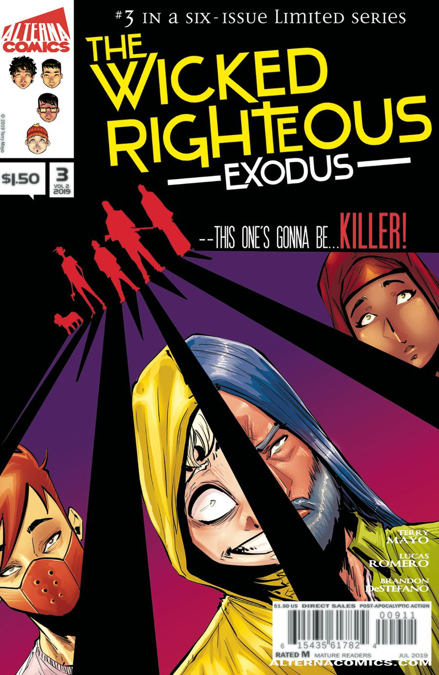Wicked Righteous Vol 2 #3