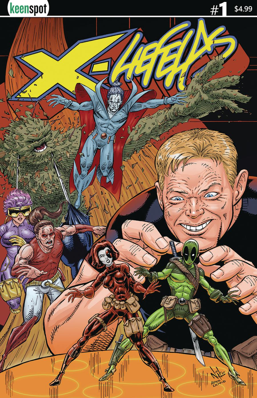 X-Liefelds #1 Cover A Regular Rob Nikolakakis Cover