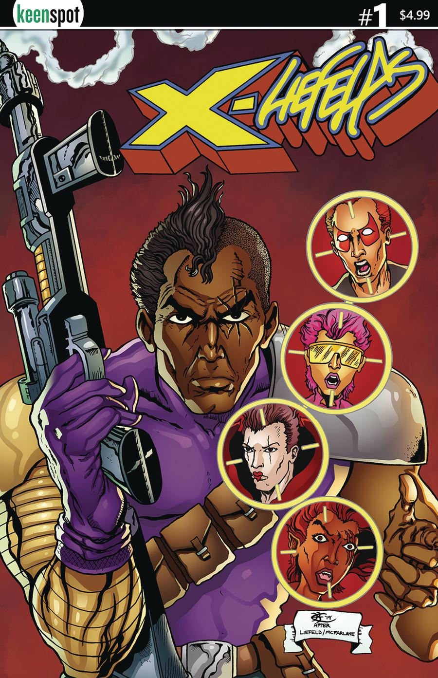 X-Liefelds #1 Cover C Variant Kent Cover
