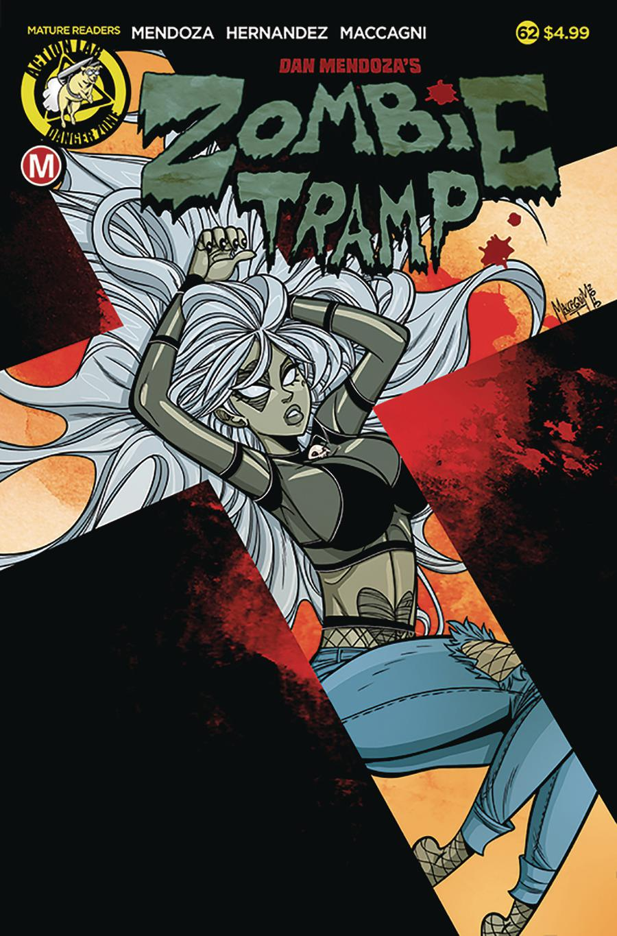 Zombie Tramp Vol 2 #62 Cover A Regular Marco Maccagni Cover
