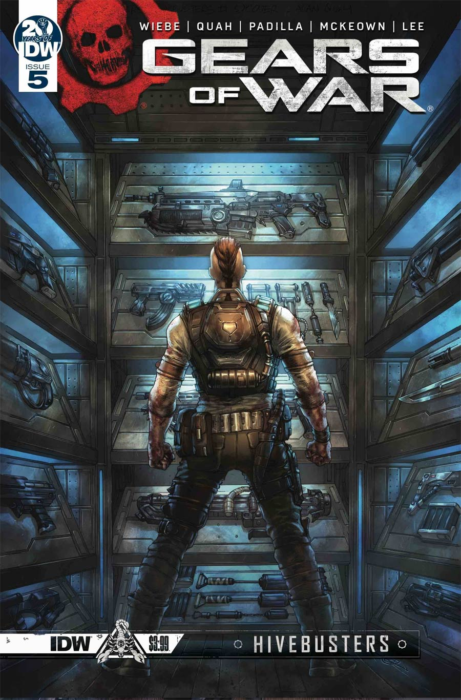 Gears Of War Hivebusters #5 Cover A Regular Alan Quah Cover
