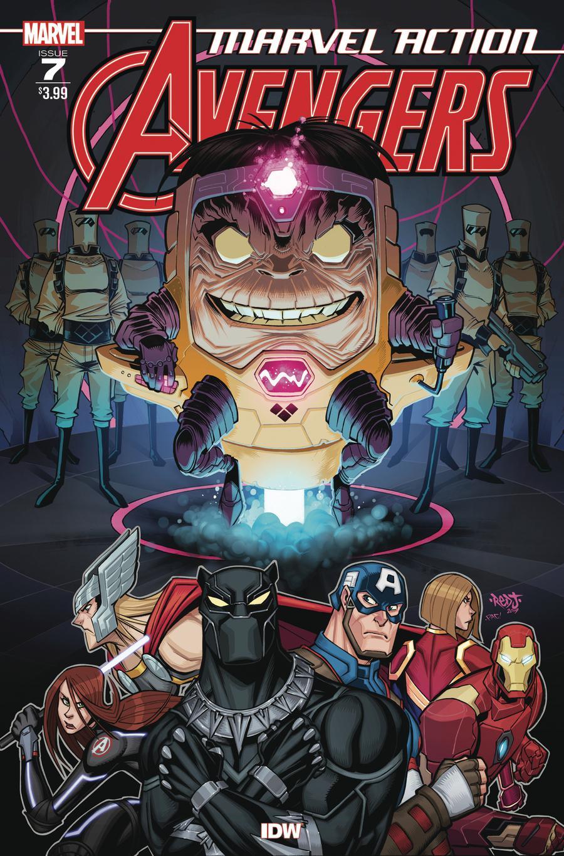 Marvel Action Avengers #7 Cover A Regular Jon Sommariva Cover