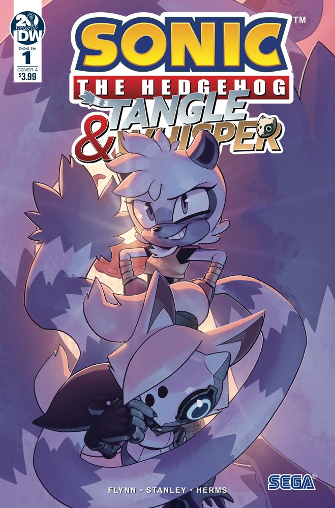 Sonic The Hedgehog Tangle & Whisper #1 Cover A Regular Evan Stanley Cover