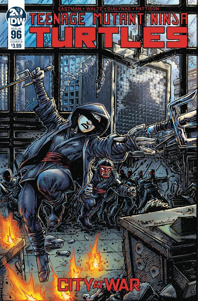 Teenage Mutant Ninja Turtles Vol 5 #96 Cover B Variant Kevin Eastman Cover