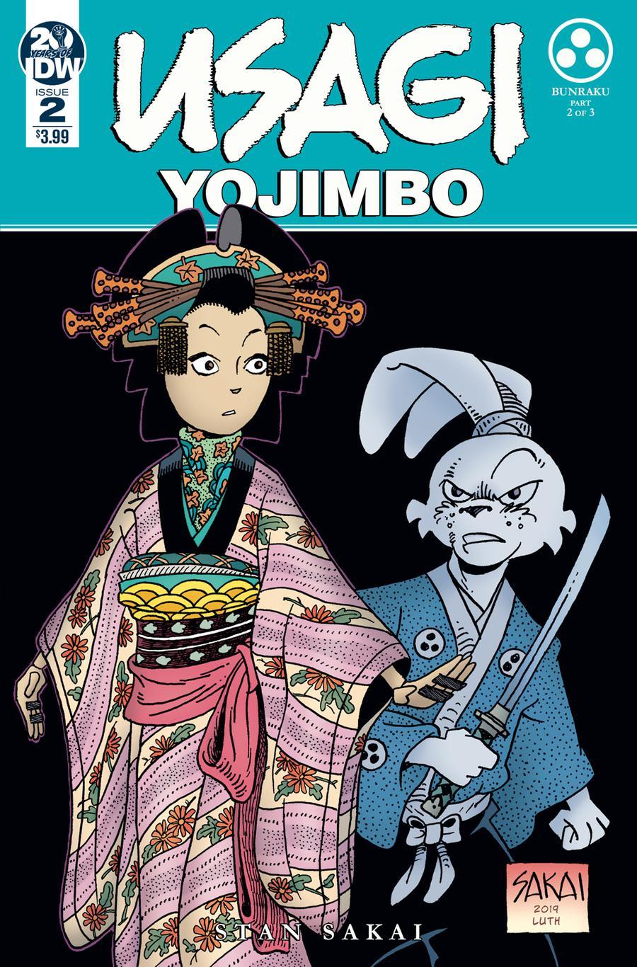Usagi Yojimbo Vol 4 #2 Cover A 1st Ptg