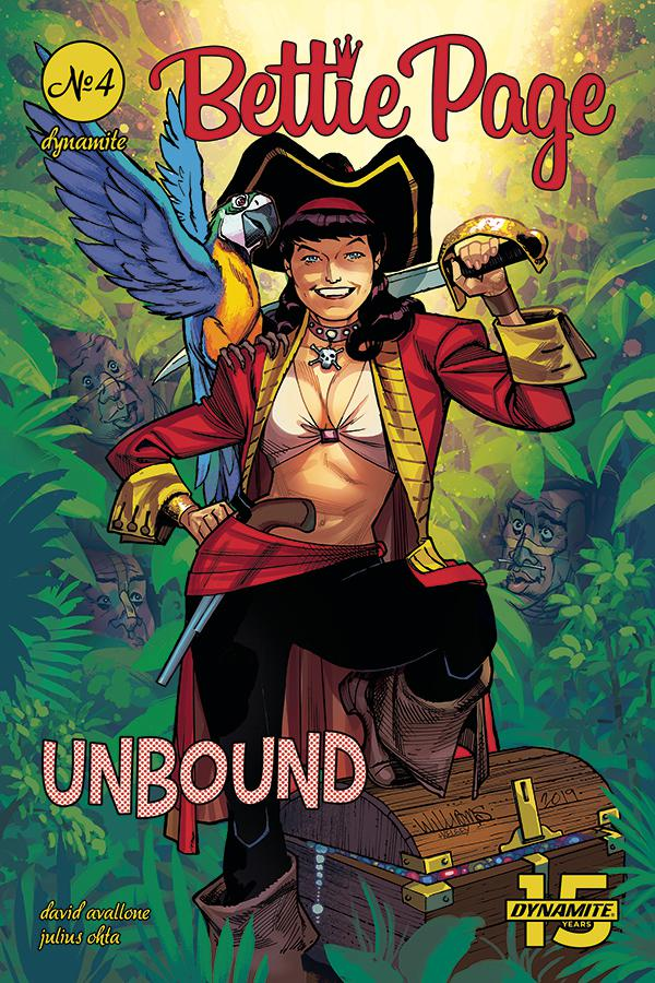 Bettie Page Unbound #4 Cover C Variant David Williams Cover