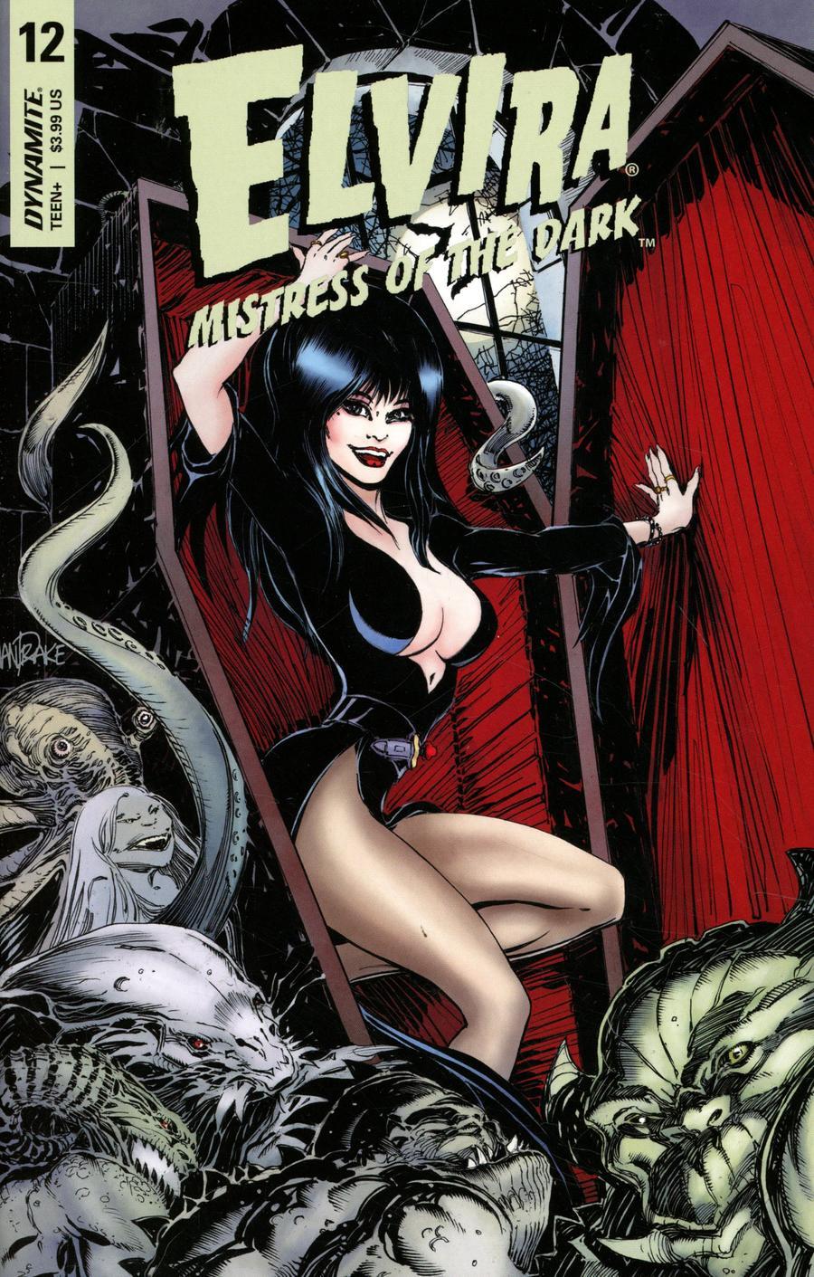 Elvira Mistress Of The Dark Vol 2 #12 Cover A Regular Tom Mandrake Cover