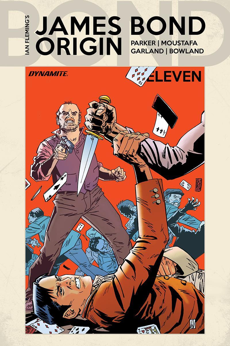 James Bond Origin #11 Cover C Variant Dean Kotz Cover