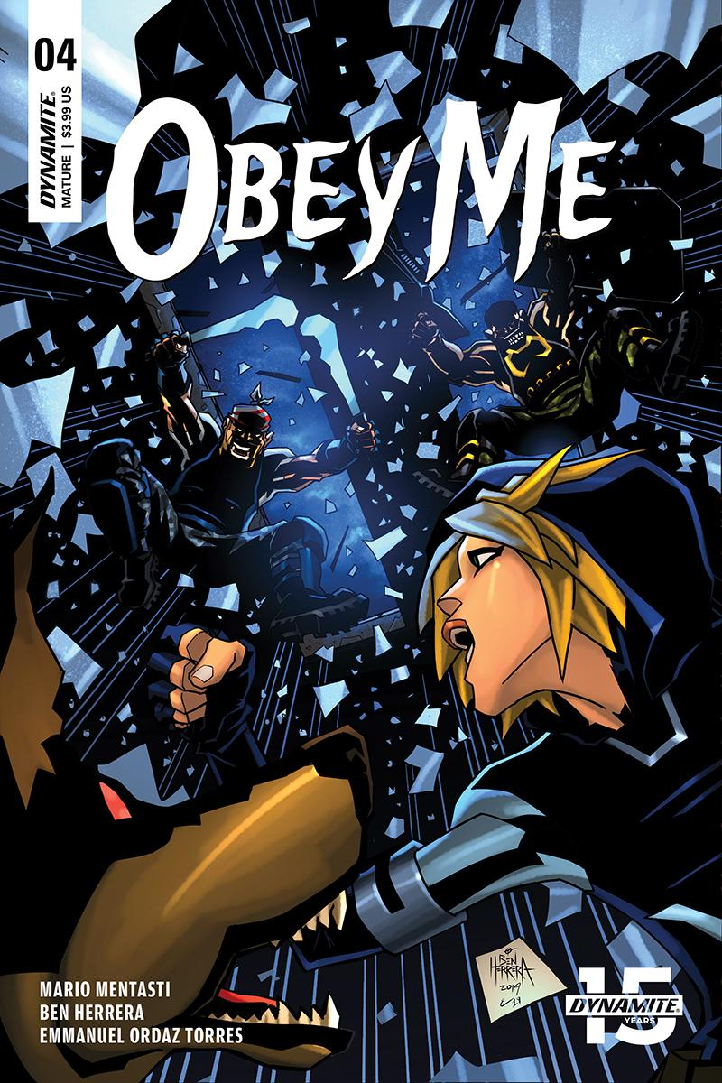 Obey Me #4 Cover A Regular Ben Herrera Cover