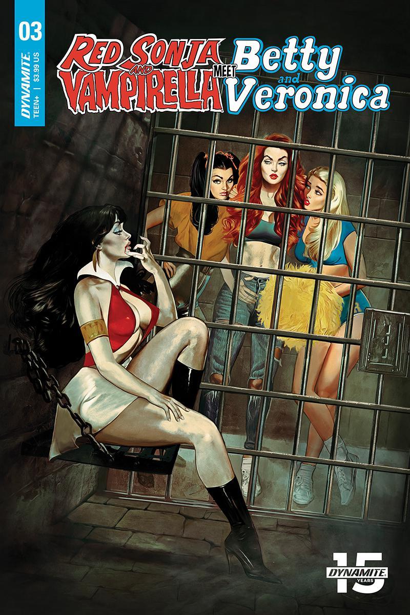 Red Sonja And Vampirella Meet Betty And Veronica #3 Cover A Regular Fay Dalton Cover